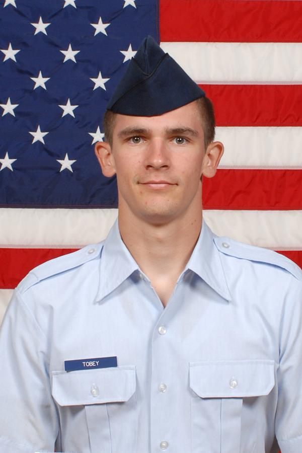 Airman Dustin J. Tobey