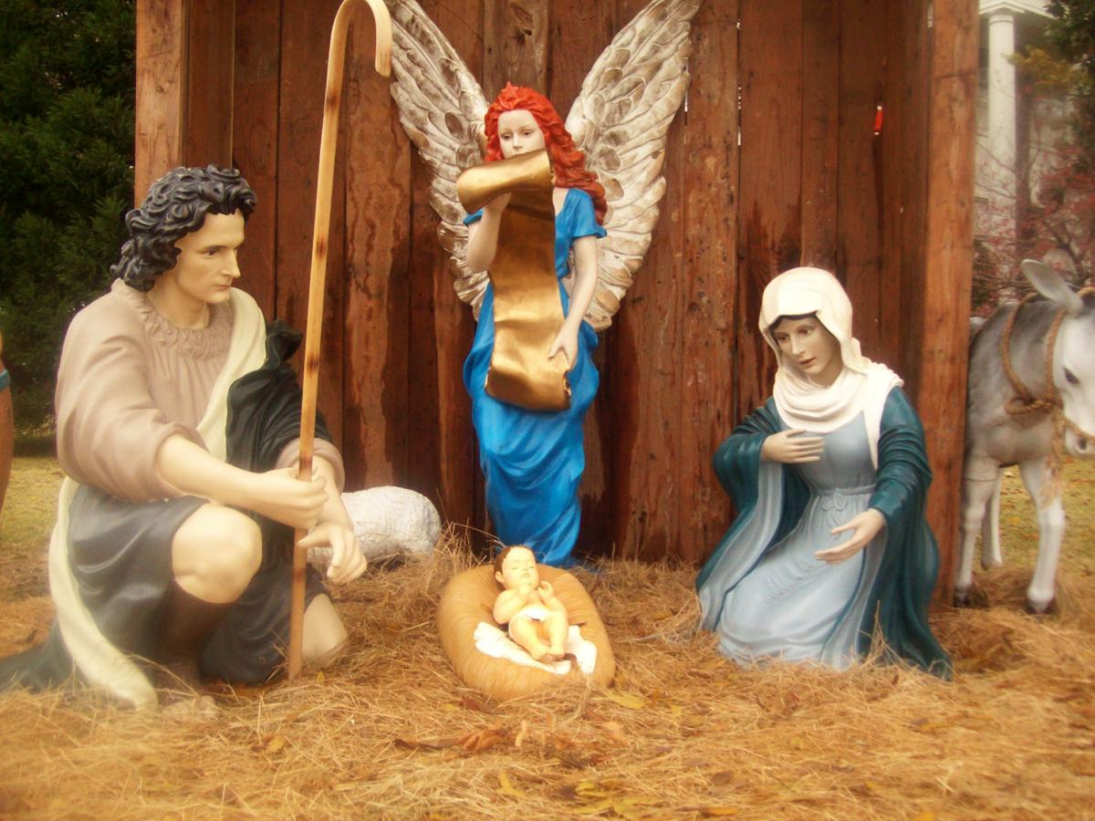 Top Story No. 3: Nativity Scene
