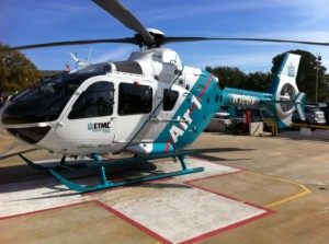 New ETMC helicopter