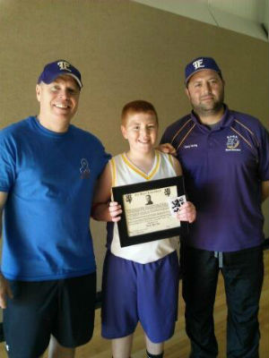 Eustace Middle School athlete earns national recognition