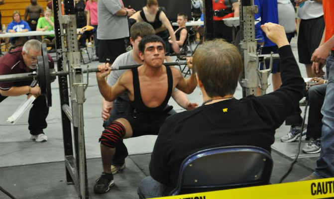 Athens finishes third in Tyler powerlifting meet