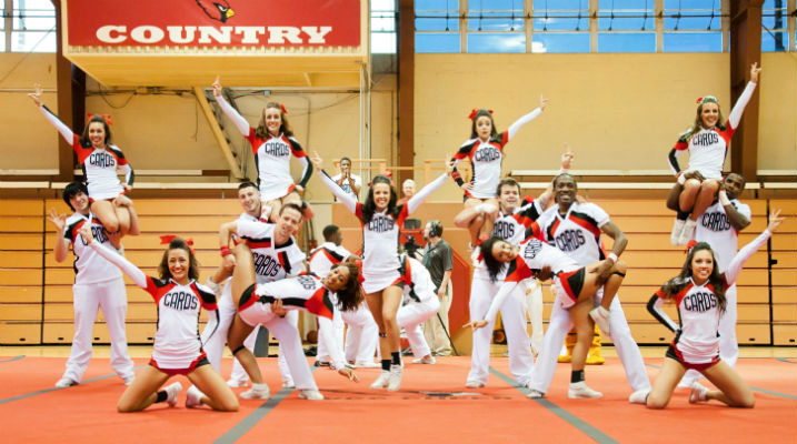 TVCC cheerleaders look back to move forward
