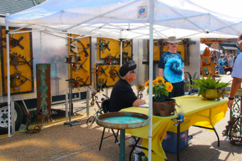 The annual Cedar Creek Lake Festival of the Arts, hosted by the Mabank Chapter of the Cedar Creek Lake Area Chamber of Commerce, is scheduled to open to the public on historic Market Street in downtown Mabank at 10 a.m. and close at 4 p.m. on Saturday, May 18. (COURTESY PHOTO)