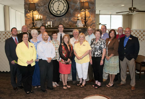 Graduates for the 2012-2013 ALI class were honored at the Athens Chamber of Commerce monthly luncheon Wednesday. (COURTESY PHOTO)