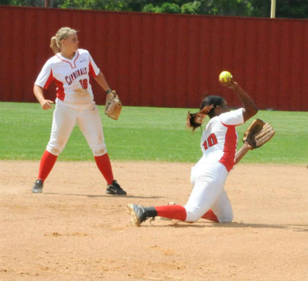 Lady Cards begin playoff tournament