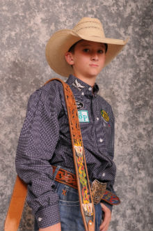 Carpenter Qualifies For National Junior High Finals Rodeo