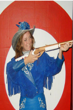Shannon Ryan portrays Annie Oakley in HCPAC's production of Annie Get Your Gun.  The show marks the 25th Anniversary of the Summer Youth Musical at the theatre.  The show runs August 1st, 2nd, 3rd, 8th, 9th and 10th at 7:30pm and August 4th and 10th at 2pm.  Reservations may be made by calling 903-675-3908 or online at www.hcpac.org.