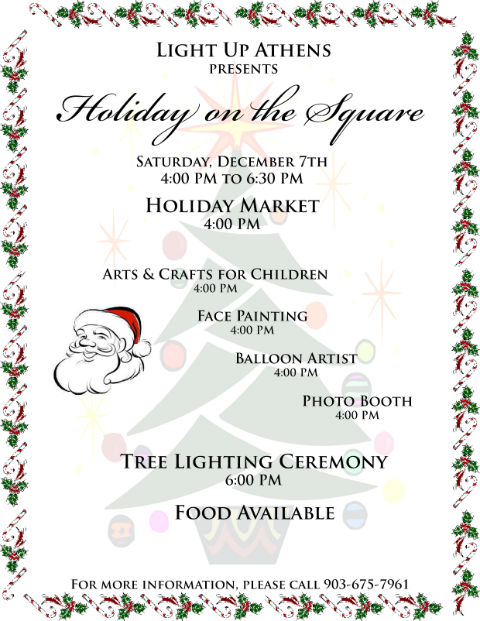 Holiday on the Square @ Courthouse Square