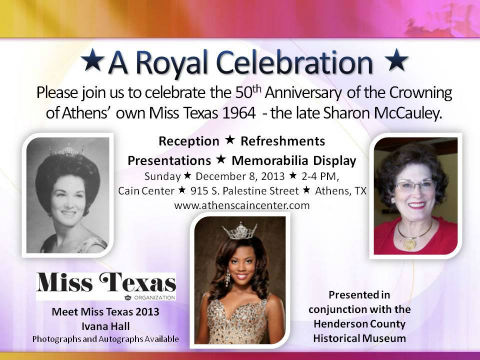 Miss Texas at the Cain Center @ Cain Center