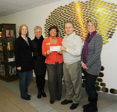 TVEC donation to TVCC Foundation