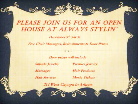 Always Stylin' Open House @ Always Stylin | Athens | Texas | United States