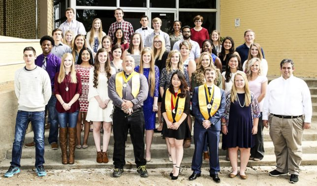 TVCC PTK Fall 2016 Inductees