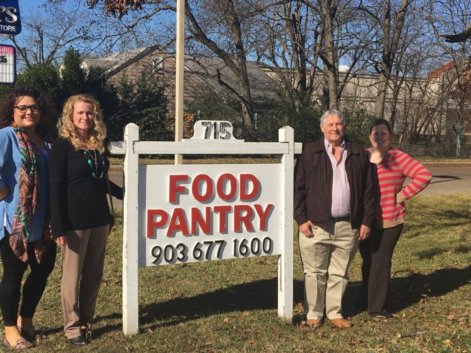 Appraisal District Employees Make Donation To Food Pantry