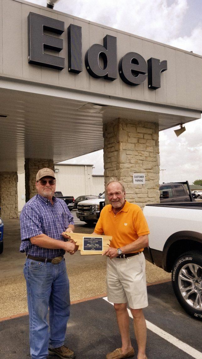 Hayden Elder Honored With 2018 Livestock Show Catalog